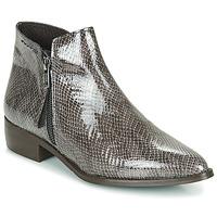 Schoenen Dames Laarzen Ippon Vintage STING HILL Grijs / Lak