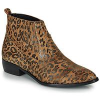 Schoenen Dames Laarzen Ippon Vintage GILL ARTY Camel