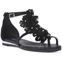 Schoenen Dames Sandalen / Open schoenen Sono Italiana CROSTA NERO Nero