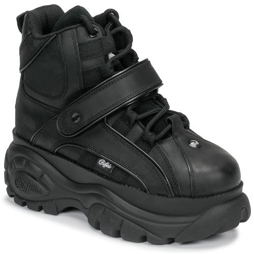 Schoenen Dames Hoge sneakers Buffalo 1348 Zwart
