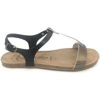 Schoenen Dames Sandalen / Open schoenen Amoa sandales SANARY Noir/Aciero Zwart
