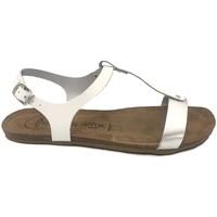 Schoenen Dames Sandalen / Open schoenen Amoa sandales SANARY Blanc/Argent Wit