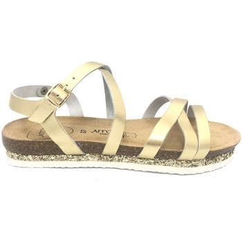 Schoenen Dames Sandalen / Open schoenen Amoa sandales MIMOSAS Or Goud