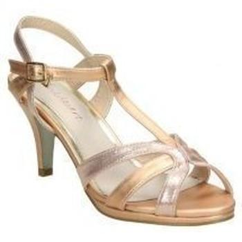 Schoenen Dames Sandalen / Open schoenen Pink Desert 18080 rose