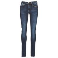 Textiel Dames Skinny jeans Le Temps des Cerises PULP HIGH SLIM Blauw