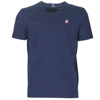 Textiel Heren T-shirts korte mouwen Le Coq Sportif ESS TEE SS N°2 M Blauw / Marine