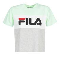 Textiel Dames T-shirts korte mouwen Fila ALLISON TEE Blauw / Grijs