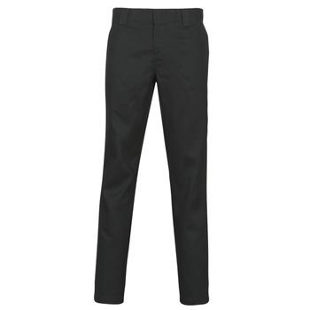 Textiel Heren 5 zakken broeken Dickies SLIM FIT WORK PNT Zwart