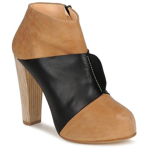 Schoenen Dames Low boots Terhi Polkki EINY Beige / Zwart