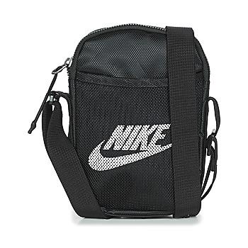 Tassen Tasjes / Handtasjes Nike NK HERITAGE S SMIT Zwart