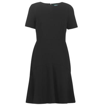 Textiel Dames Korte jurken Lauren Ralph Lauren BABA Zwart