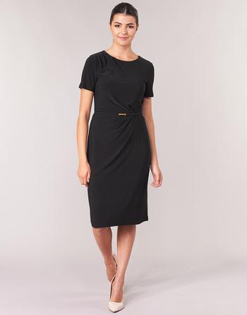 Lauren Ralph Lauren BELTED SHORT SLEEVE DRESS