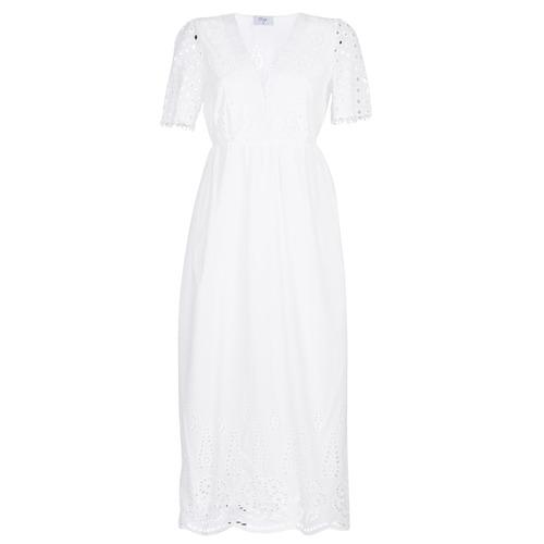Textiel Dames Lange jurken Betty London KATARELLE Wit