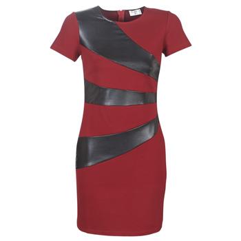 Textiel Dames Korte jurken Moony Mood LIVEO Bordeau / Zwart