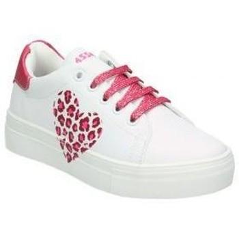 Schoenen Kinderen Lage sneakers Asso AG550-851 blanc