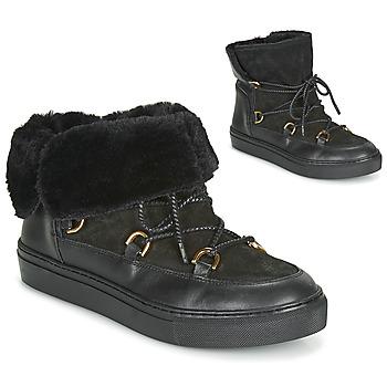 Schoenen Dames Laarzen Casual Attitude LONE Zwart