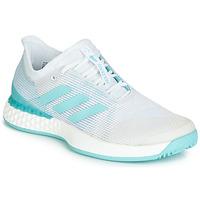 Schoenen Dames Running / trail adidas Performance ADIZERO UBERSONIC 3M X PARLEY Wit / Blauw