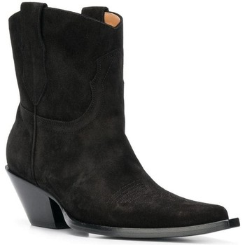 Schoenen Dames Hoge laarzen Maison Margiela S58WU0221 PR047 nero