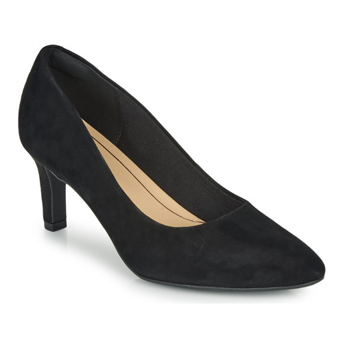 Schoenen Dames pumps Clarks CALLA ROSE Zwart