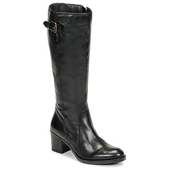 Schoenen Dames Hoge laarzen Clarks MASCARPONE ELA Zwart