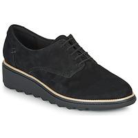 Schoenen Dames Derby Clarks SHARON NOEL Zwart