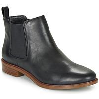Schoenen Dames Laarzen Clarks TAYLOR SHINE Zwart