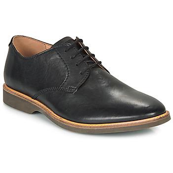 Schoenen Heren Derby Clarks ATTICUS LACE Zwart