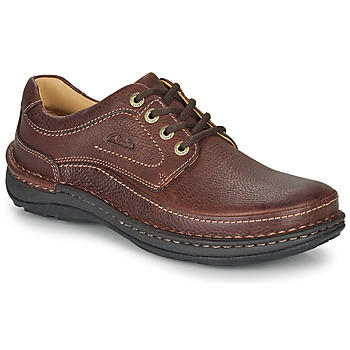 Schoenen Heren Derby Clarks NATURE THREE Bruin