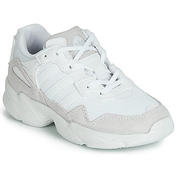 Schoenen Kinderen Lage sneakers adidas Originals YUNG-96 C Wit