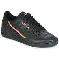 Schoenen Dames Lage sneakers adidas Originals CONTINENTAL 80 W Zwart