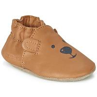 Schoenen Kinderen Babyslofjes Robeez SWEETY BEAR Camel