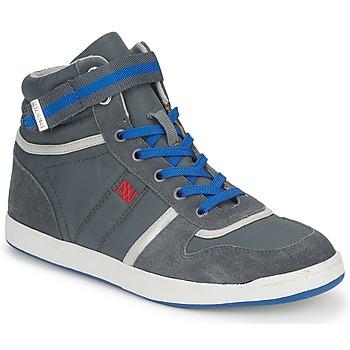 Schoenen Dames Hoge sneakers Dorotennis BASKET NYLON ATTACHE Grijs