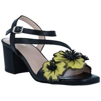 Schoenen Dames Sandalen / Open schoenen Dansi 1260 Sandalias con Tacón de Mujer zwart