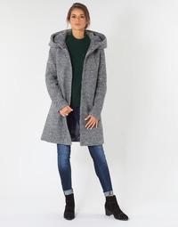 Textiel Dames Mantel jassen Vila VICANIA Grijs