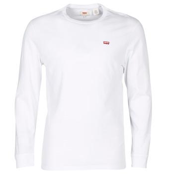 Textiel Heren T-shirts korte mouwen Levi's LS ORIGINAL HM TEE Wit