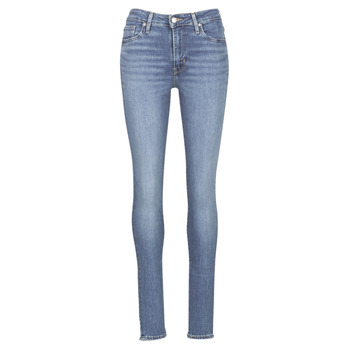 Textiel Dames Skinny Jeans Levi's 721 HIGH RISE SKINNY Los / Angeles / Sun