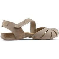 Schoenen Dames Sandalen / Open schoenen Interbios Sandalen  UNIVERSUM BEIGE