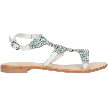 Schoenen Dames Sandalen / Open schoenen Cristin CATRIN9 White and blue