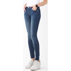Textiel Dames Skinny Jeans Wrangler Natural River W29JPV95C navy