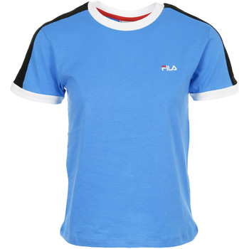 Textiel Dames T-shirts korte mouwen Fila Noreen Tee Wn's Blauw