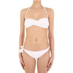 Textiel Dames Bikini Joséphine Martin CARAMELLA Bianco