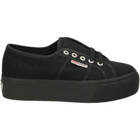 Schoenen Dames Lage sneakers Superga 2790ACOTW LINEA UP AND DOWN 996-full-black