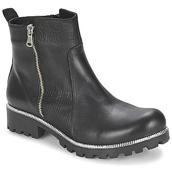 Schoenen Dames Laarzen Andrea Conti GLIONE Zwart
