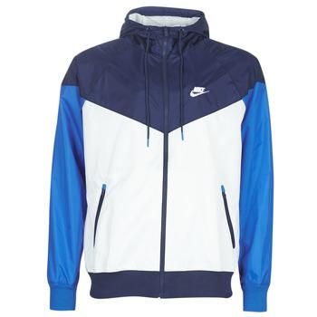 Textiel Heren Windjack Nike M NSW HE WR JKT HD Blauw / Wit
