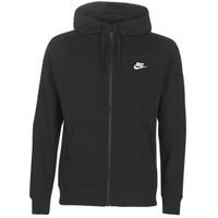 Textiel Heren Sweaters / Sweatshirts Nike M NSW CLUB HOODIE FZ BB Zwart