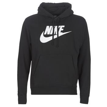 Textiel Heren Sweaters / Sweatshirts Nike M NSW CLUB HOODIE PO BB GX Zwart