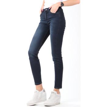 Textiel Dames Skinny Jeans Lee Scarlett High Crop Skinny Cropped L32BAIFA navy