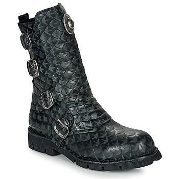 Schoenen Laarzen New Rock  Zwart