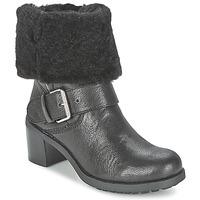 Schoenen Dames Laarzen Clarks PILICO PLACE Zwart