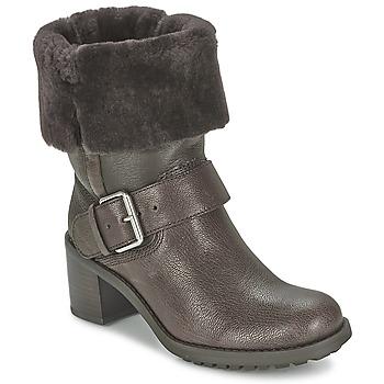 Schoenen Dames Laarzen Clarks PILICO PLACE Bruin